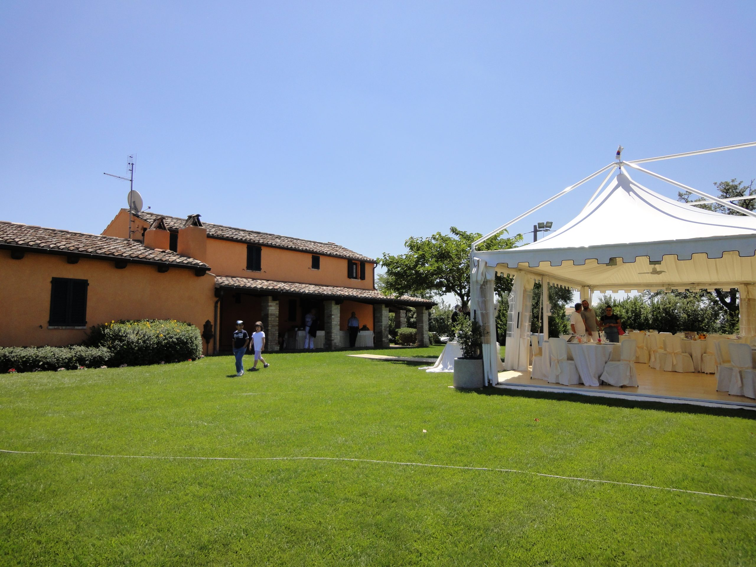 locations allestimento con gazebo