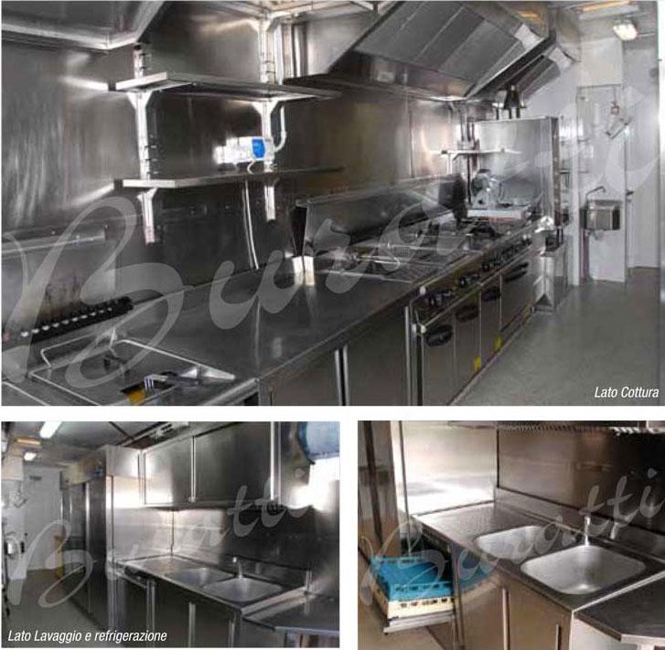 cucina 3 Buratti Catering