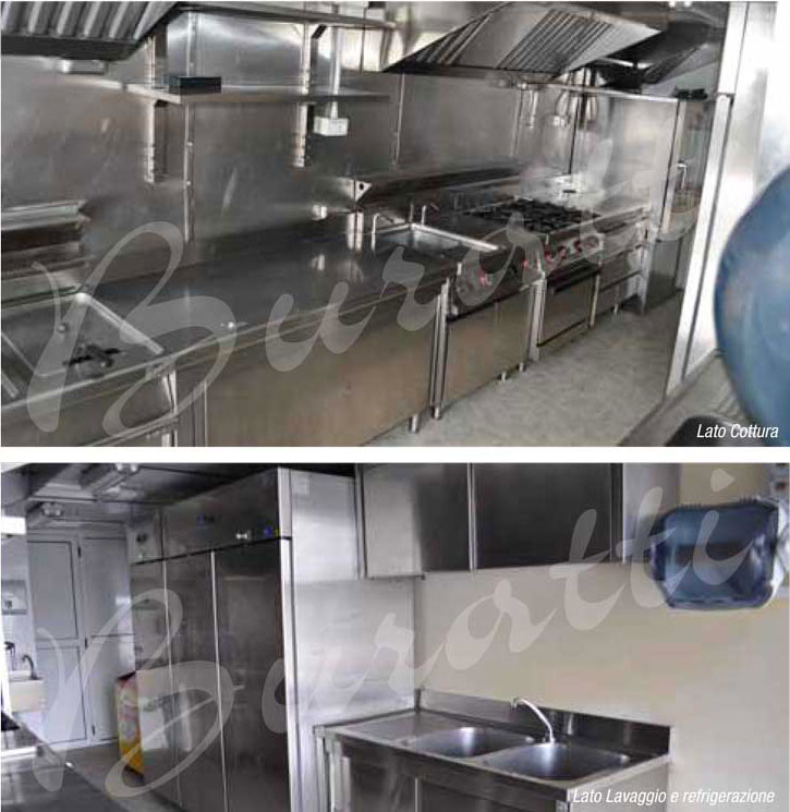 cucina 4 Buratti Catering